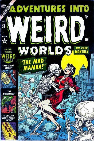 Adventures into Weird Worlds Vol 1 25