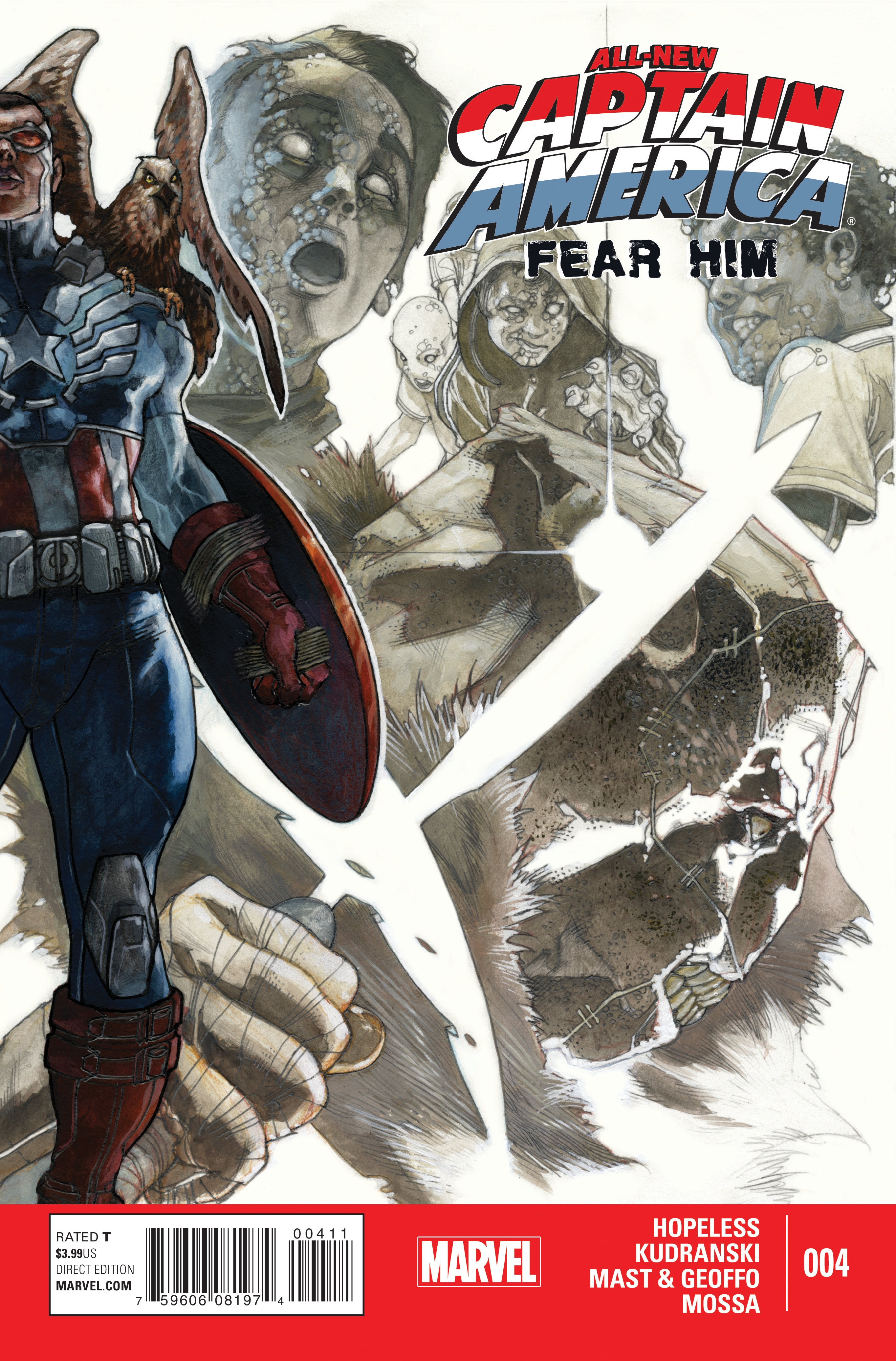 All-New Captain America: Fear Him Vol 1 4