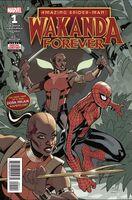 Amazing Spider-Man Wakanda Forever Vol 1 1