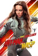 Ant-Man and the Wasp (film) poster 009