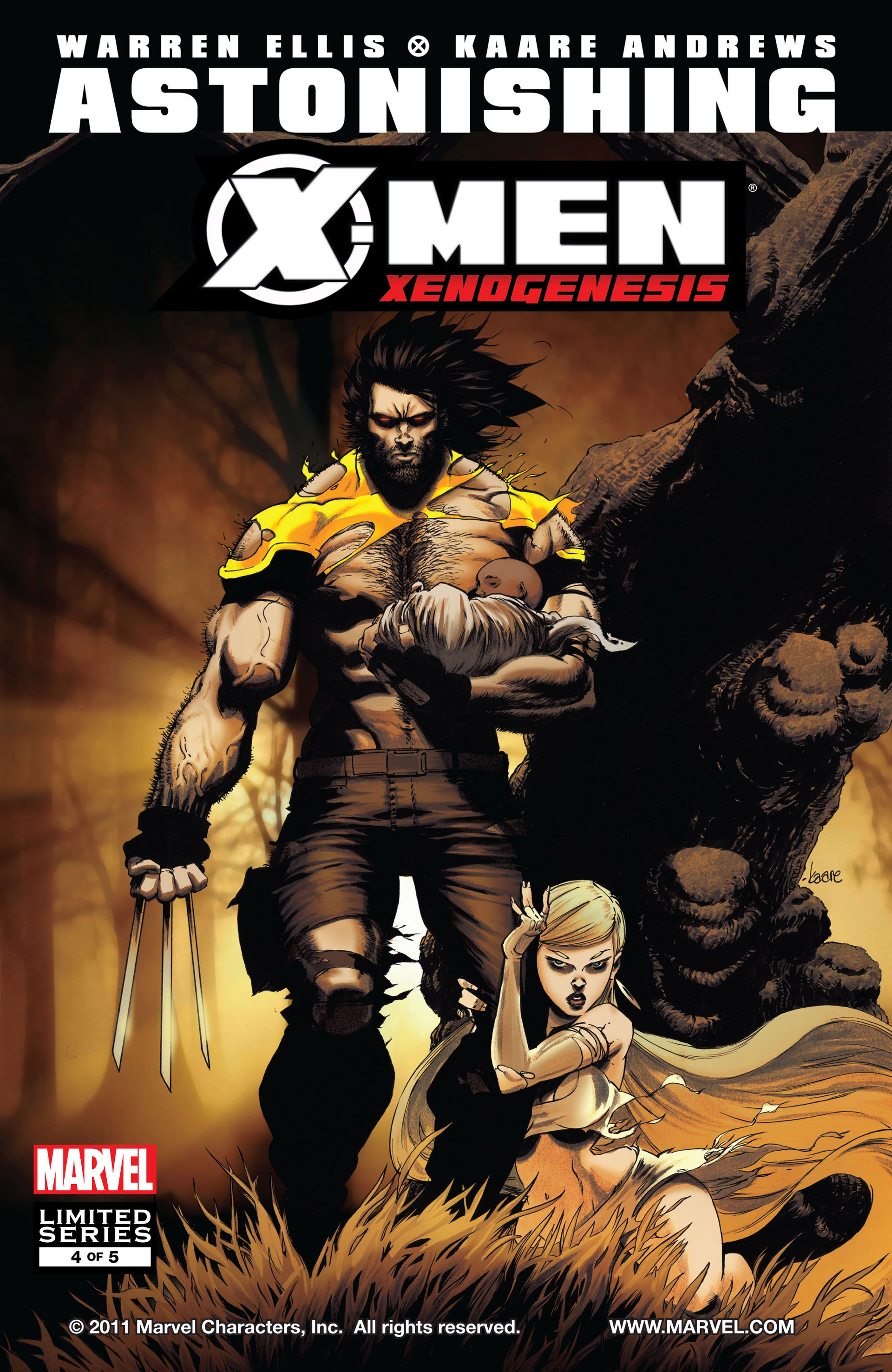 Astonishing X-Men: Xenogenesis Vol 1 4