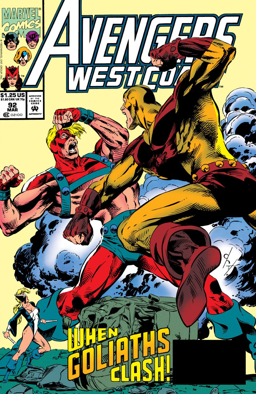 Avengers West Coast Vol 2 92