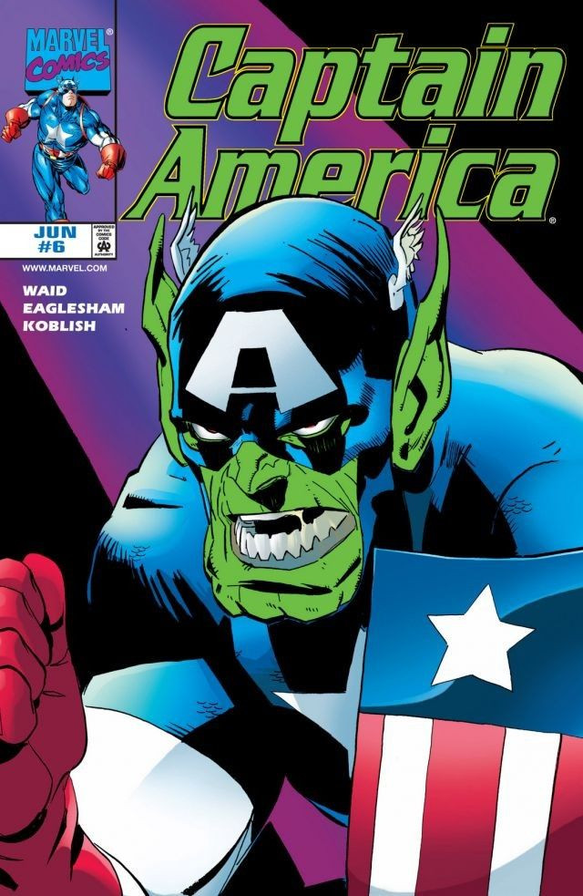 Captain America Vol 3 6