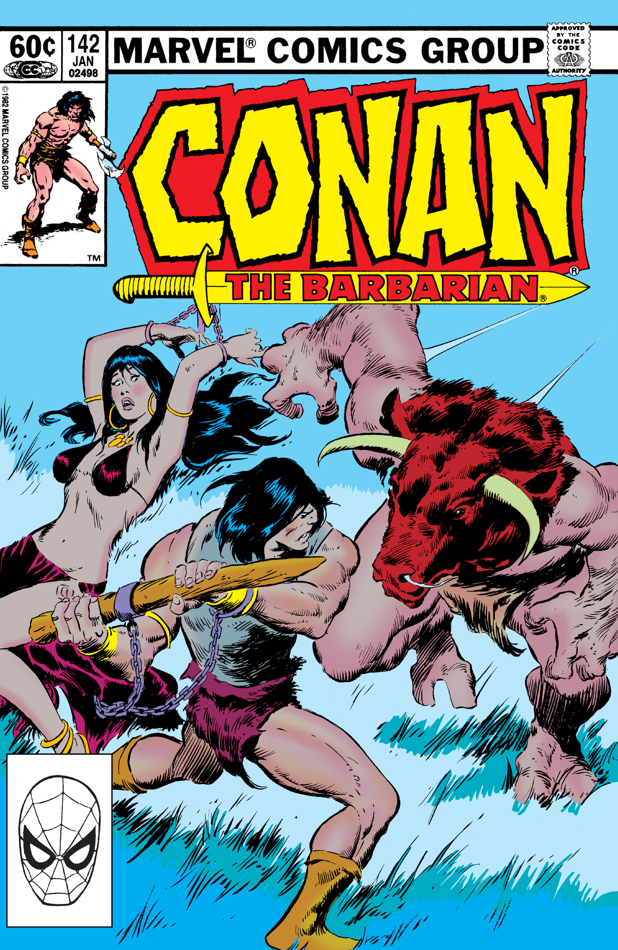 Conan the Barbarian Vol 1 142