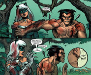 Felicia Hardy (Earth-616) and James Howlett (Earth-616) from Claws Vol 1 2 0001