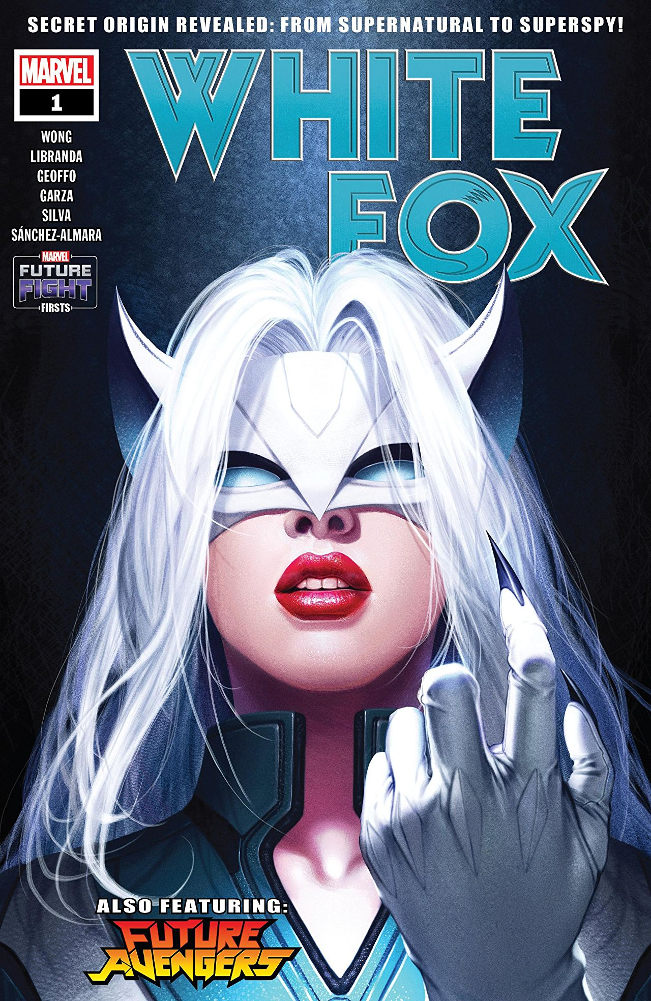 Future Fight Firsts: White Fox Vol 1 1