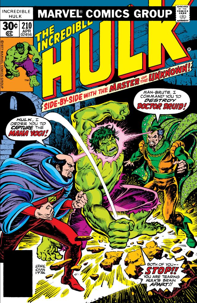 Incredible Hulk Vol 1 210