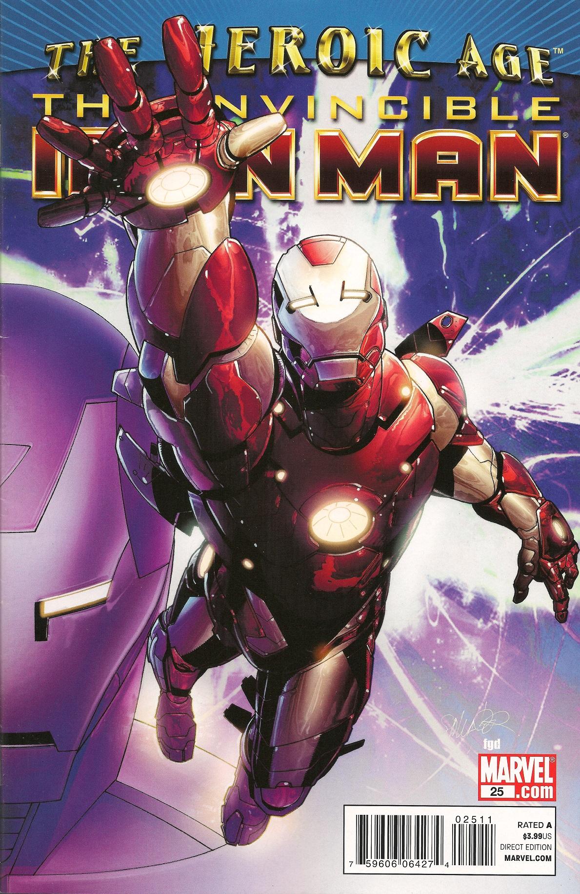 Invincible Iron Man Vol 2 25