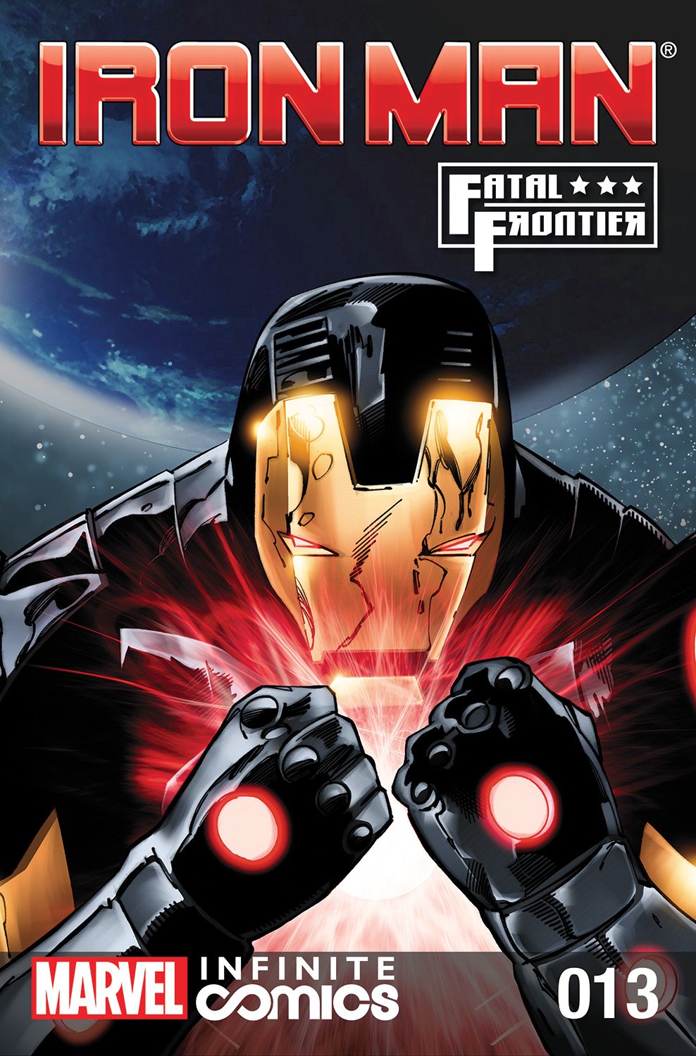 Iron Man: Fatal Frontier Infinite Comic Vol 1 13