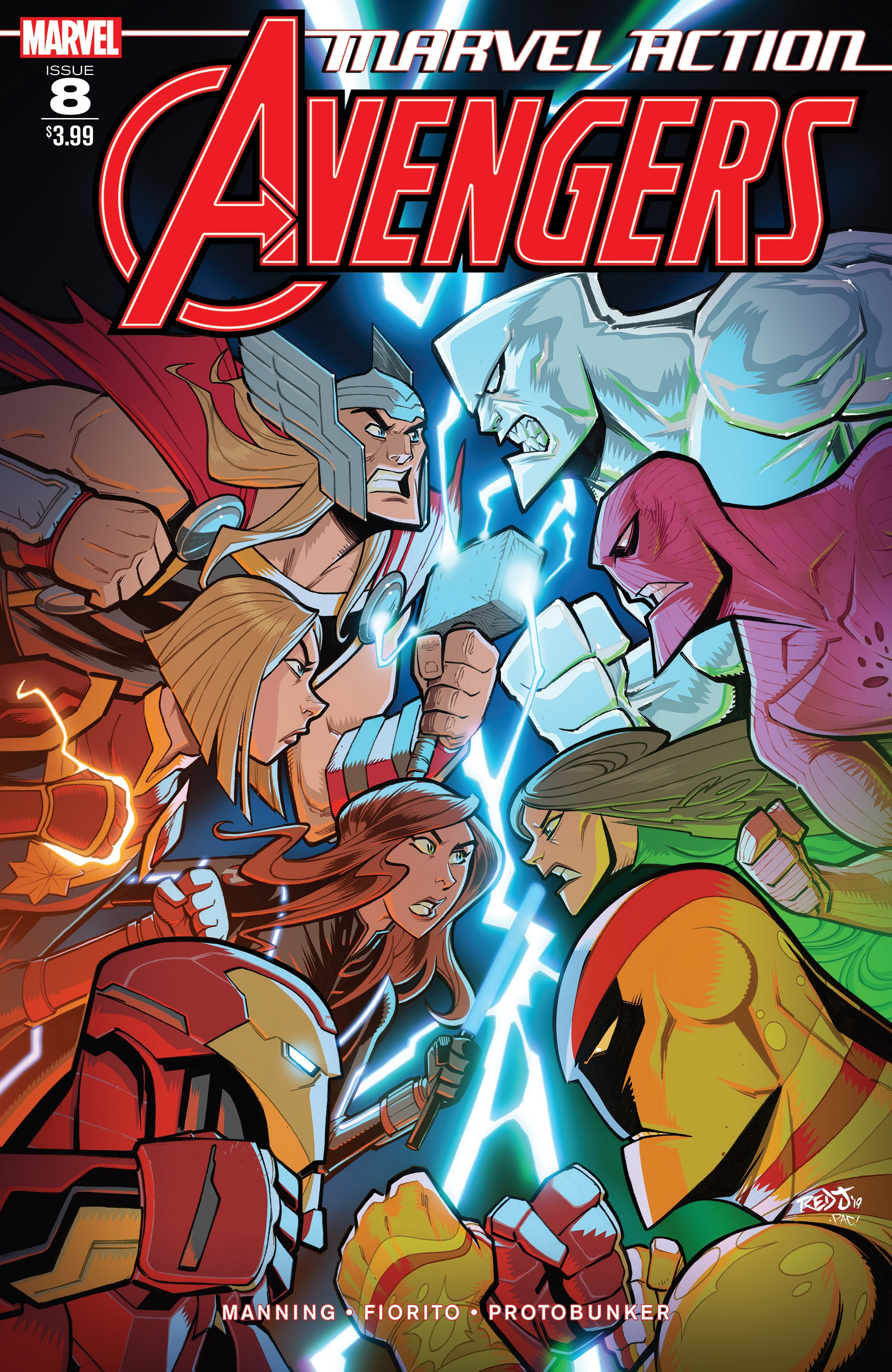 Marvel Action: Avengers Vol 1 8
