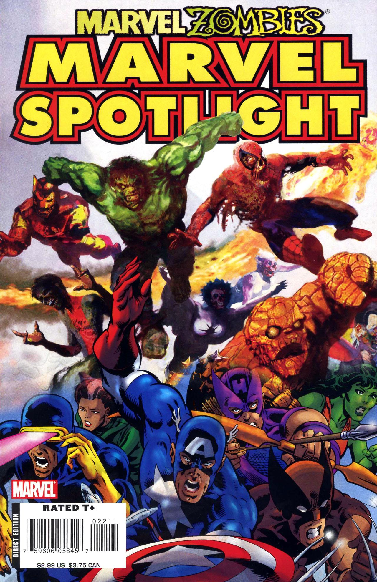 Marvel Spotlight: Marvel Zombies Vol 1