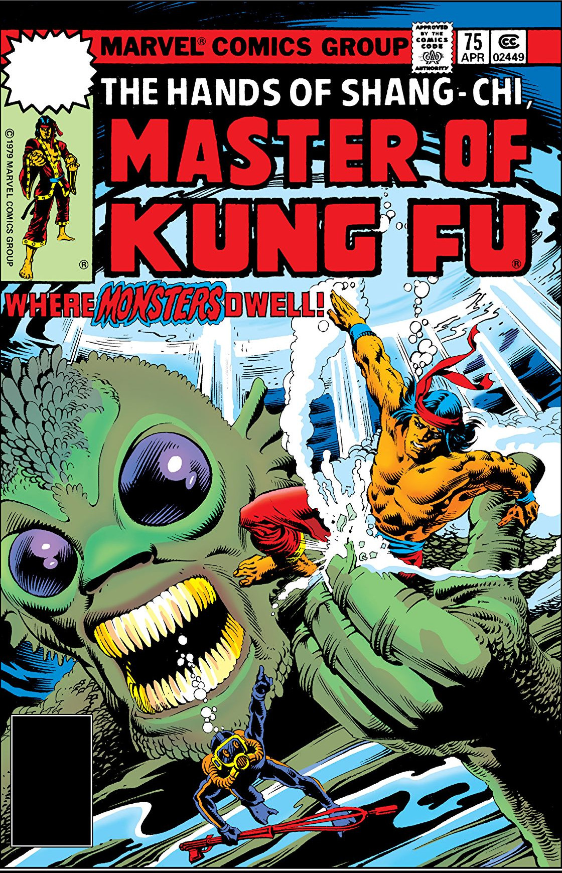 Master of Kung Fu Vol 1 75