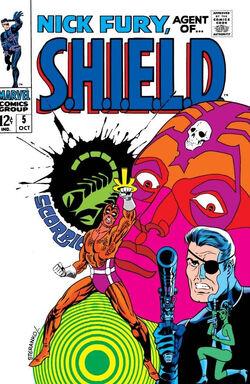 Nick Fury, Agent of SHIELD Vol 1 5.jpg