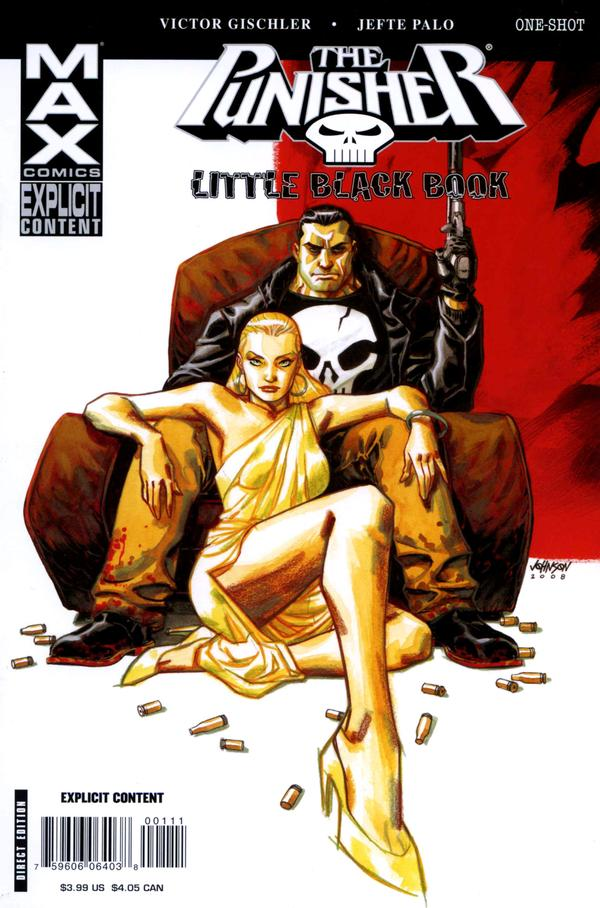 Punisher Max Special: Little Black Book Vol 1
