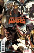 Secret Wars Vol 1 3 Bianchi Variant