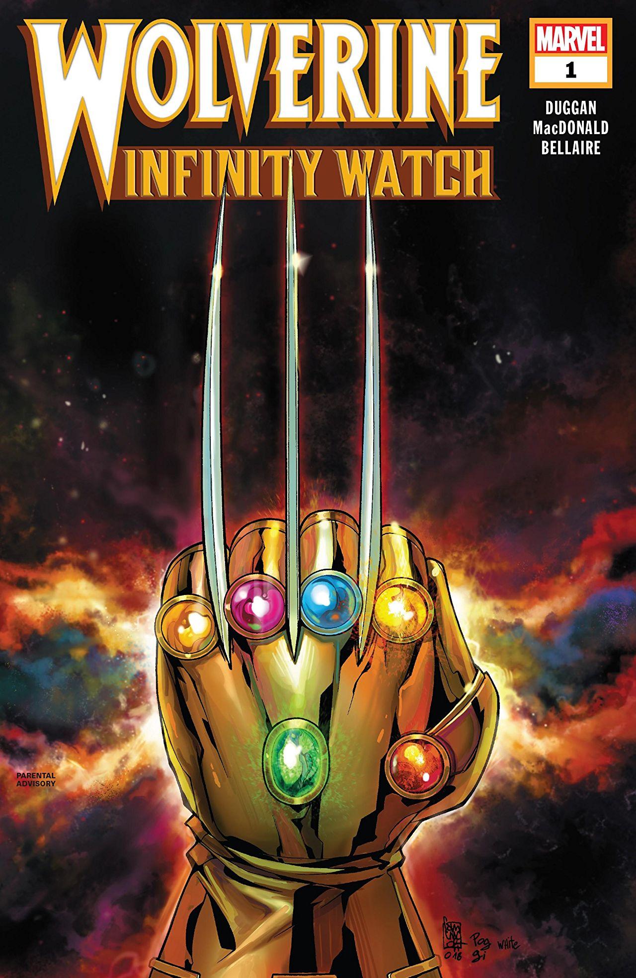 Wolverine: Infinity Watch Vol 1 1