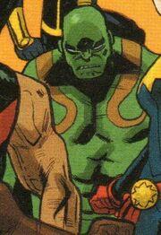 Arthur Douglas (Project Doppelganger LMD) (Earth-18236) from Spider-Man Deadpool Vol 1 34 001.jpg