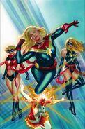 Captain Marvel Vol 10 1 Ross Variant Textless