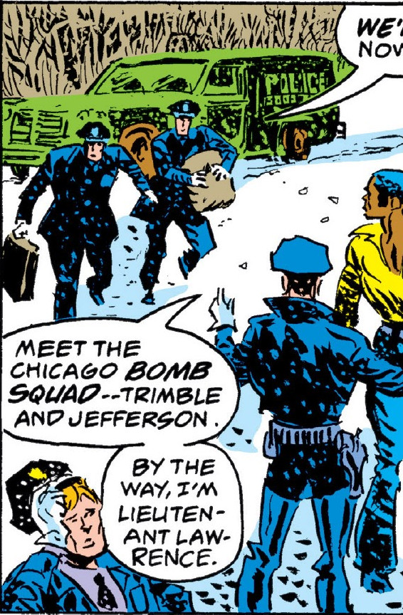 Chicago Police Department (Earth-616)/Gallery