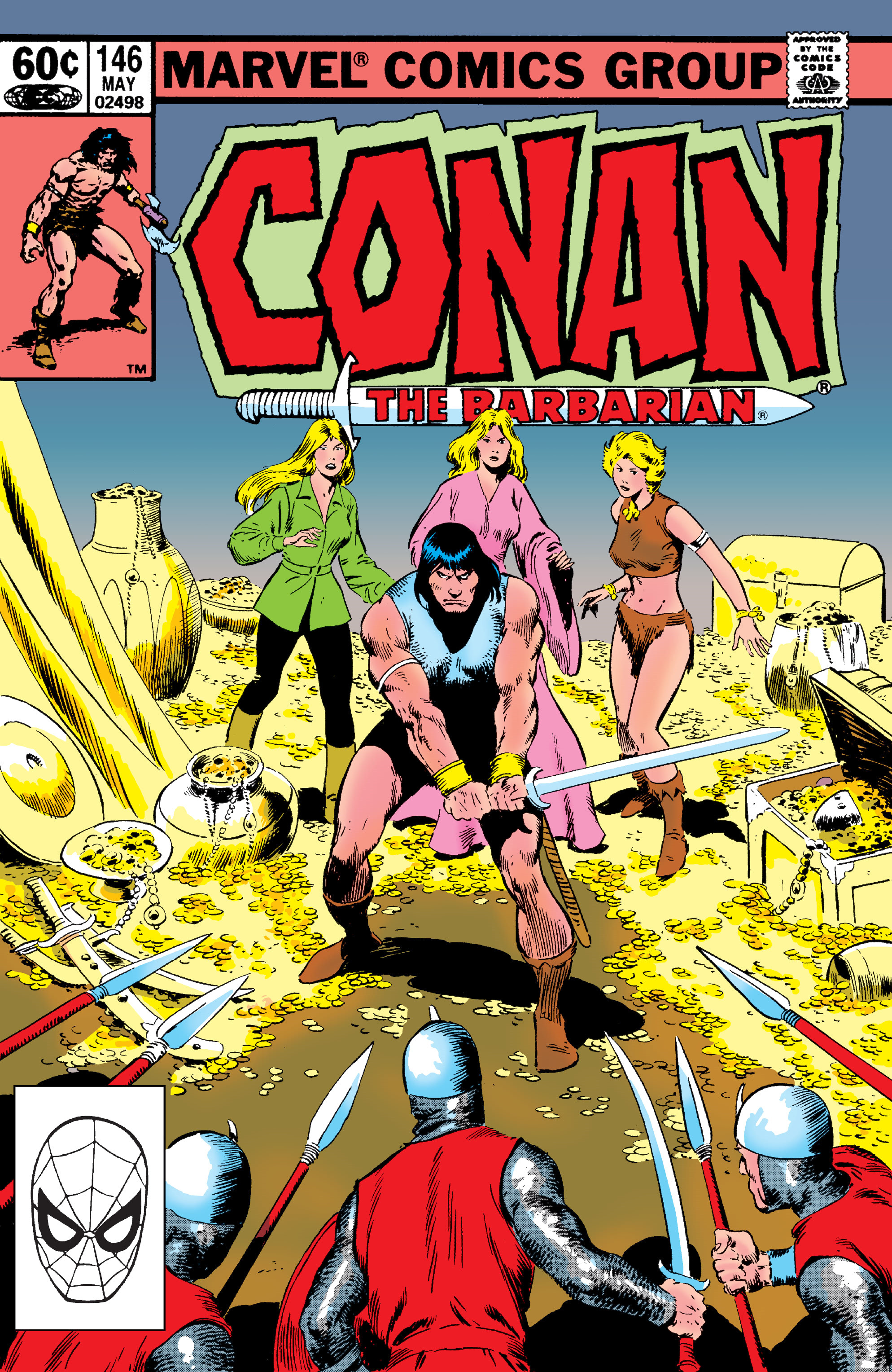 Conan the Barbarian Vol 1 146