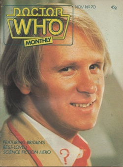 Doctor Who Monthly Vol 1 70