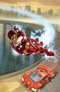 FF Vol 2 6 Many Armors of Iron Man Variant Textless