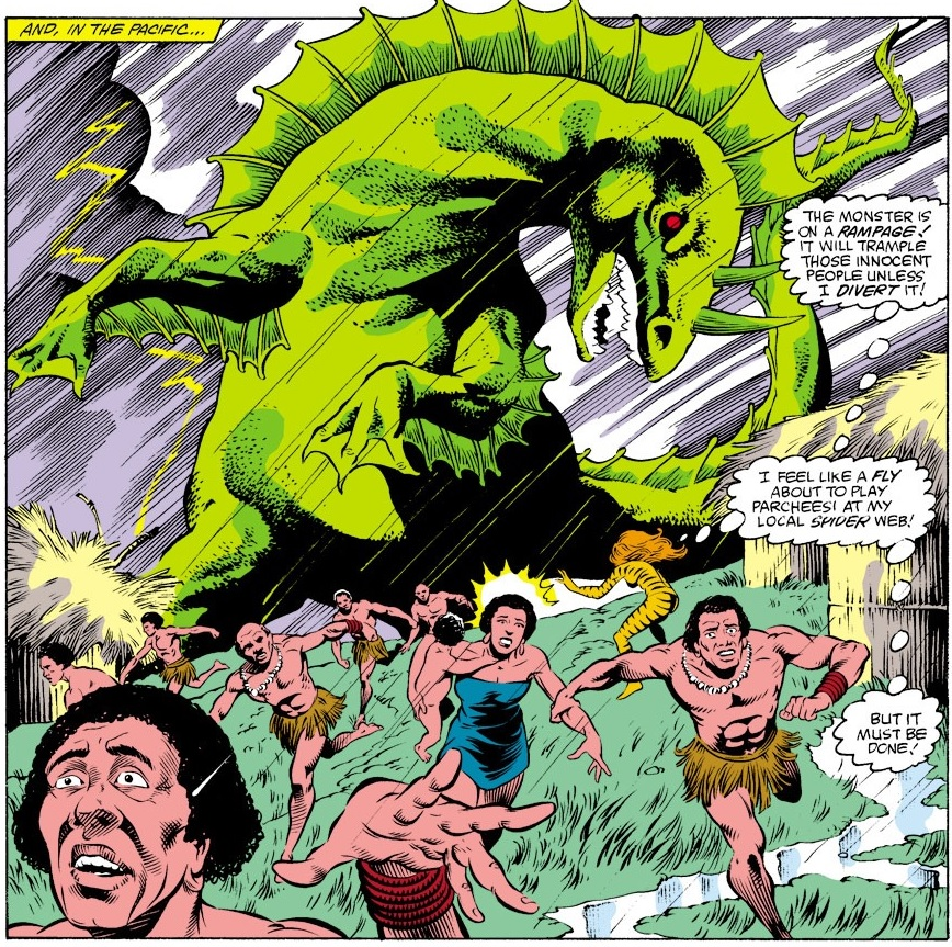 Godzilla (Earth-616) mutated form from Iron Man Vol 1 193.jpg