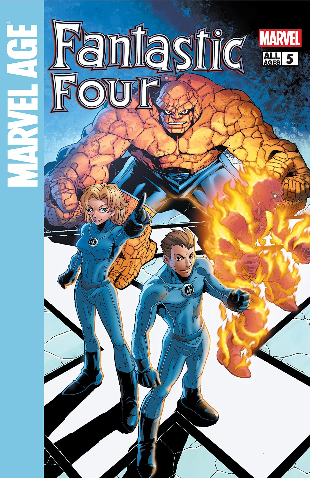 Marvel Age: Fantastic Four Vol 1 5