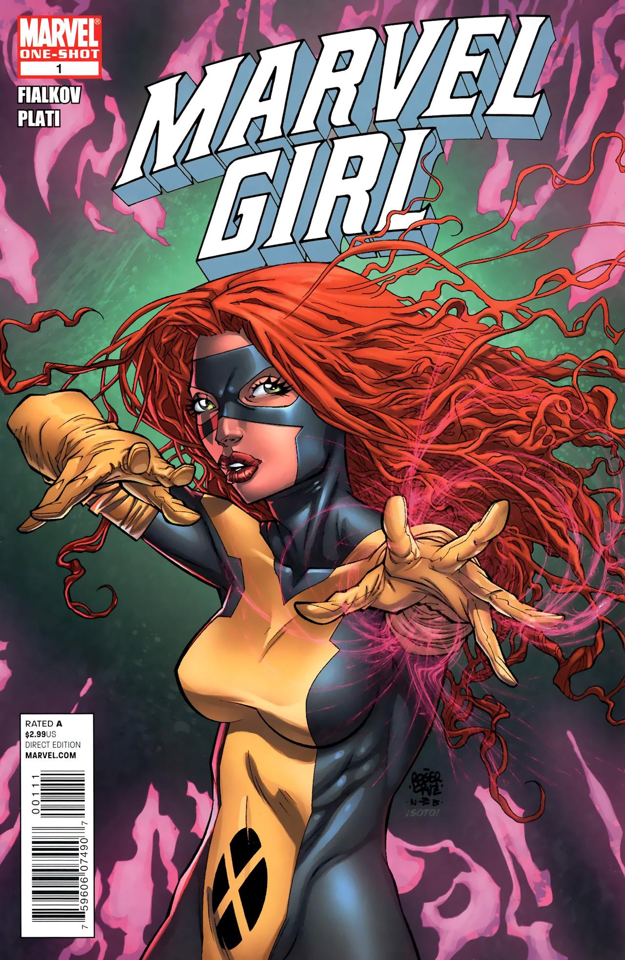 Marvel Girl Vol 1 1