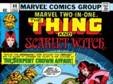 Marvel Two-In-One Vol 1 66