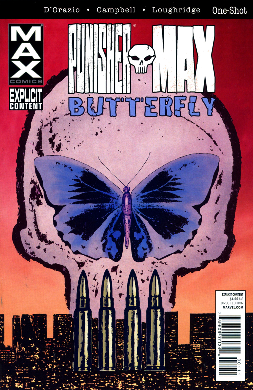Punisher Max: Butterfly Vol 1 1