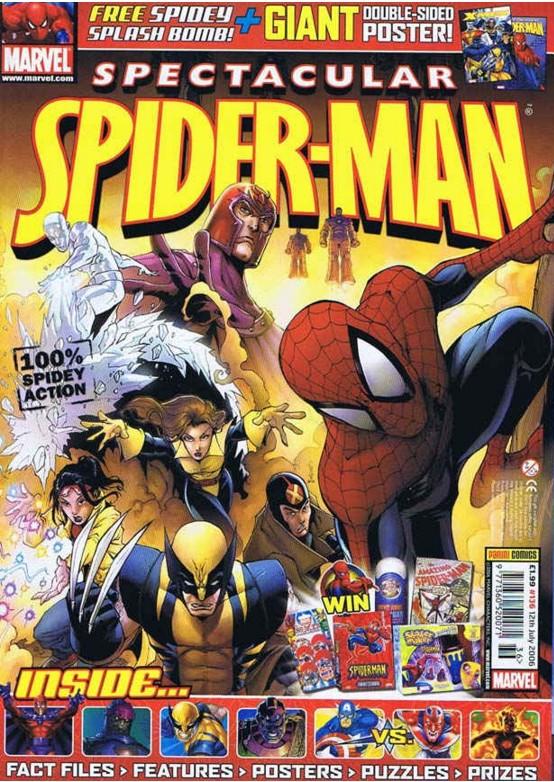 Spectacular Spider-Man (UK) Vol 1 136