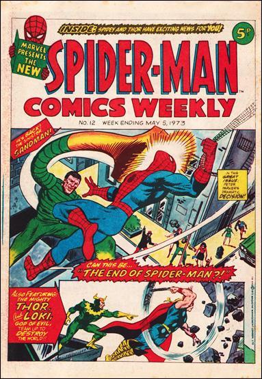 Spider-Man Comics Weekly Vol 1 12