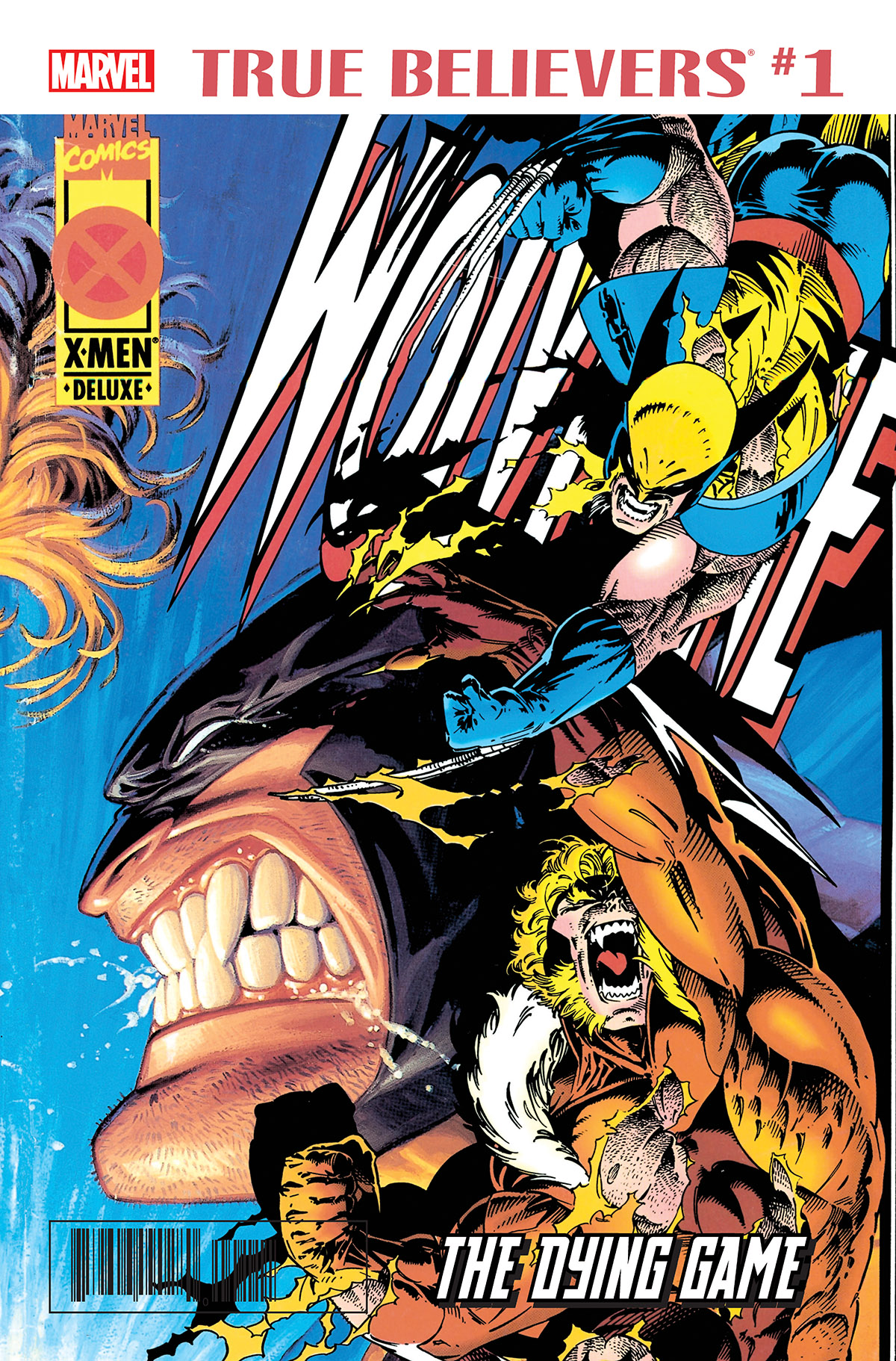 True Believers: Wolverine - The Dying Game Vol 1 1