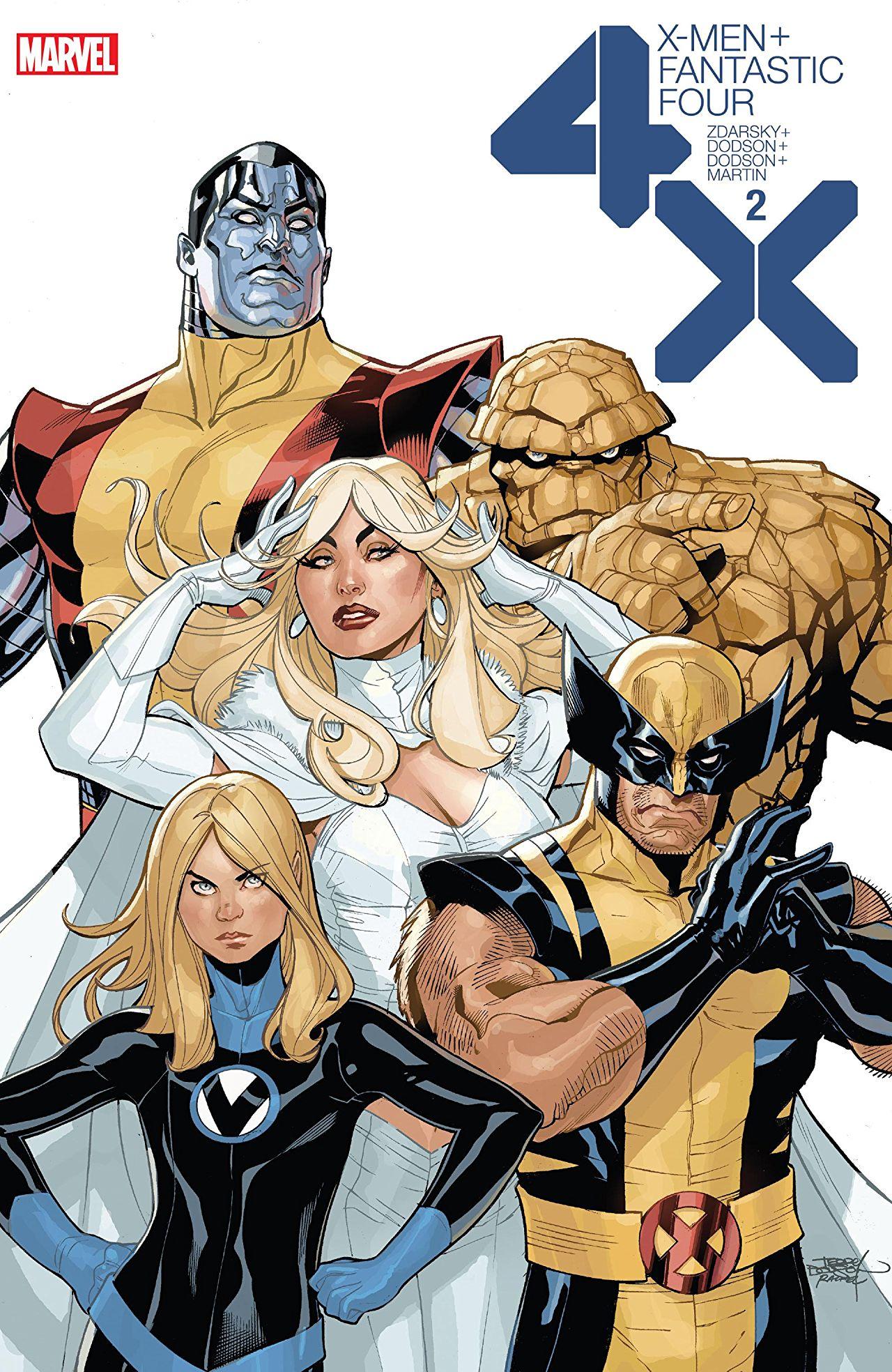 X-Men / Fantastic Four Vol 2 2