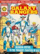 Adventures of the Galaxy Rangers Vol 1 1