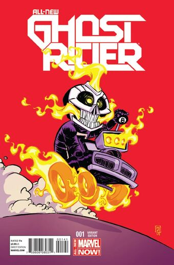 All New Ghost Rider #1 2014 Unread Del Mundo Variant 1st Robbie Reyes Marvel