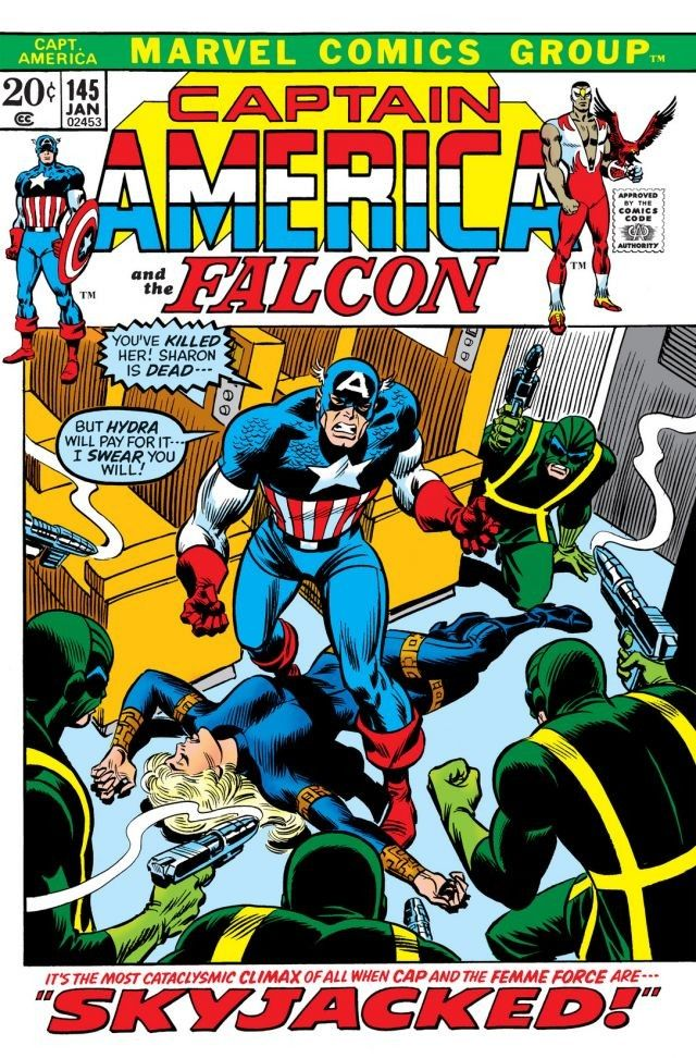 Captain America Vol 1 145