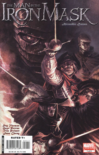 Marvel Illustrated: The Man in the Iron Mask Vol 1 1
