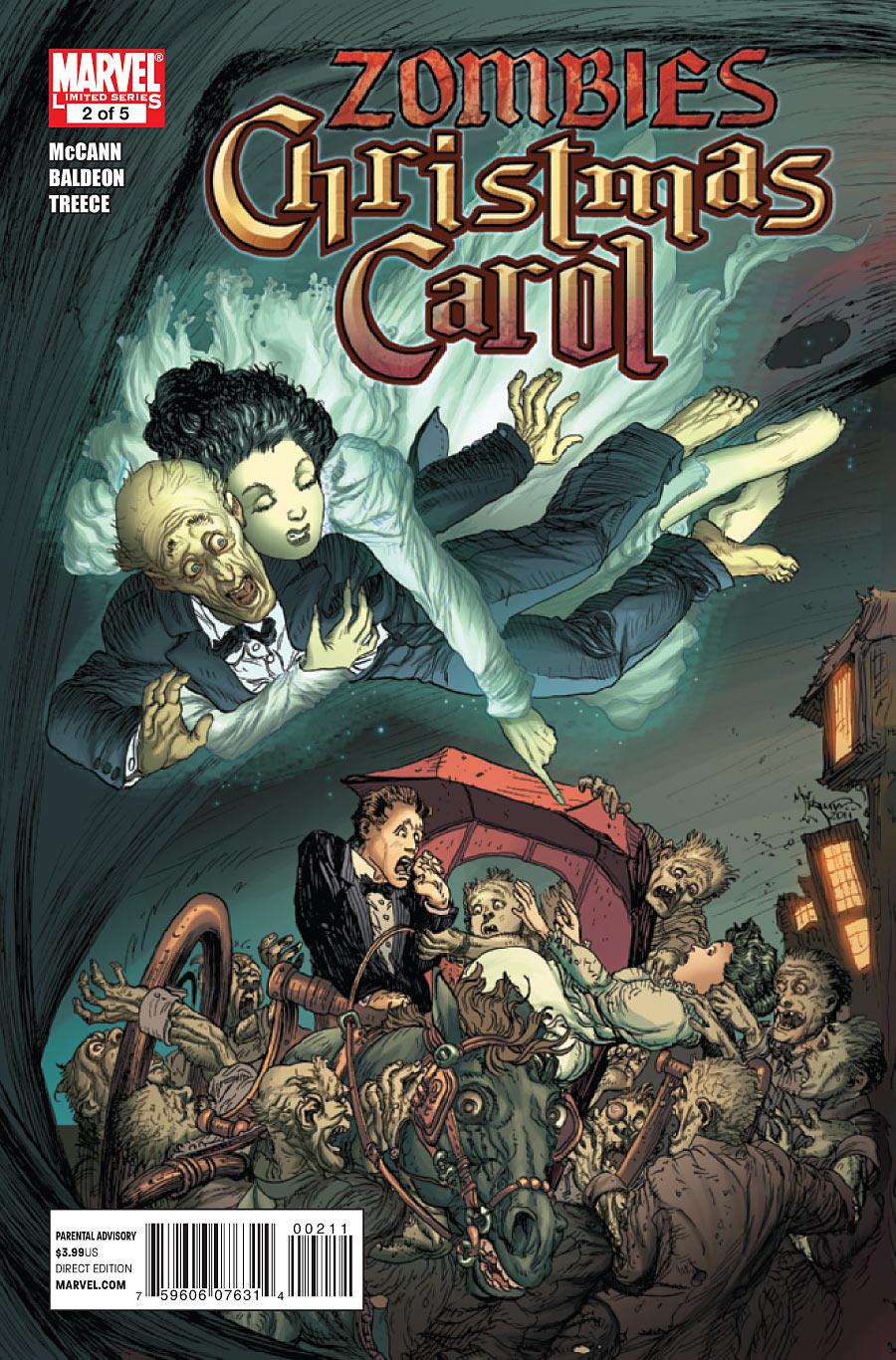 Marvel Zombies Christmas Carol Vol 1 2