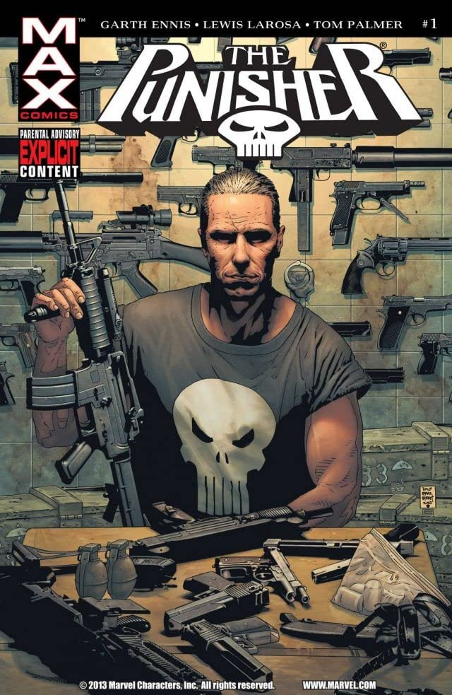 Punisher Vol 7 1