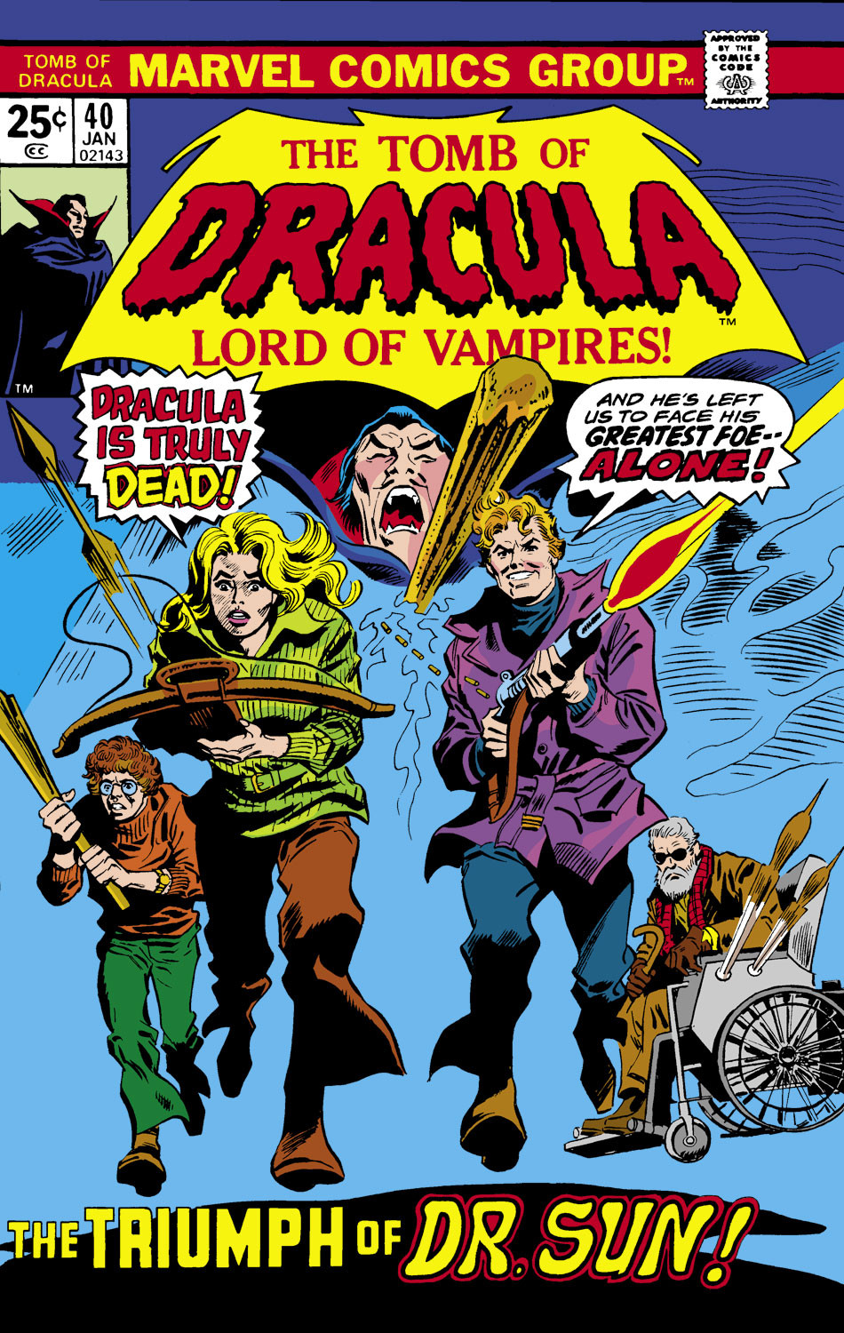 Tomb of Dracula Vol 1 40