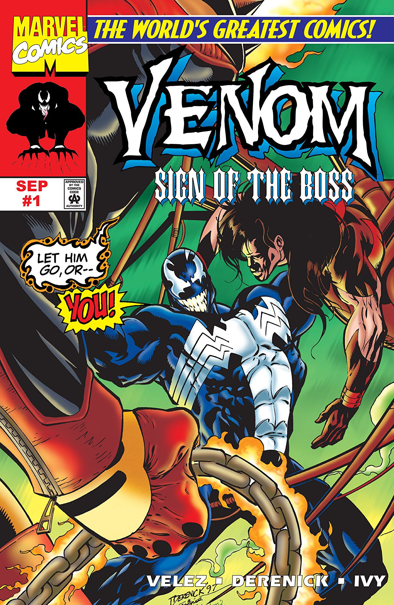 Venom: Sign of the Boss Vol 1 1