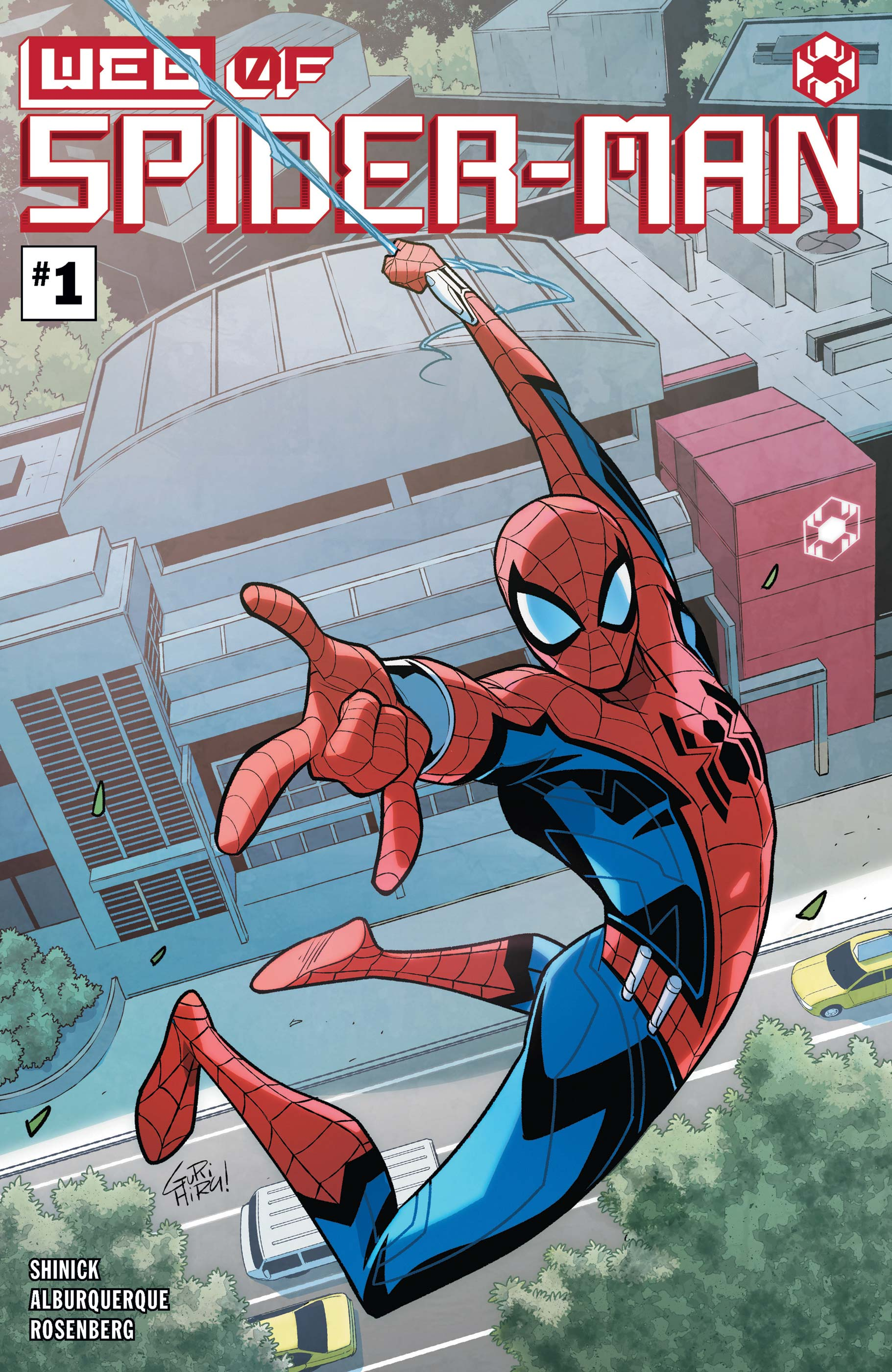 W.E.B. of Spider-Man Vol 1 1