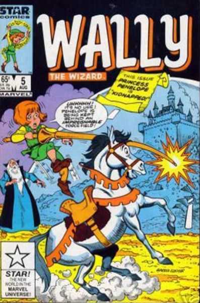 Wally the Wizard Vol 1 5