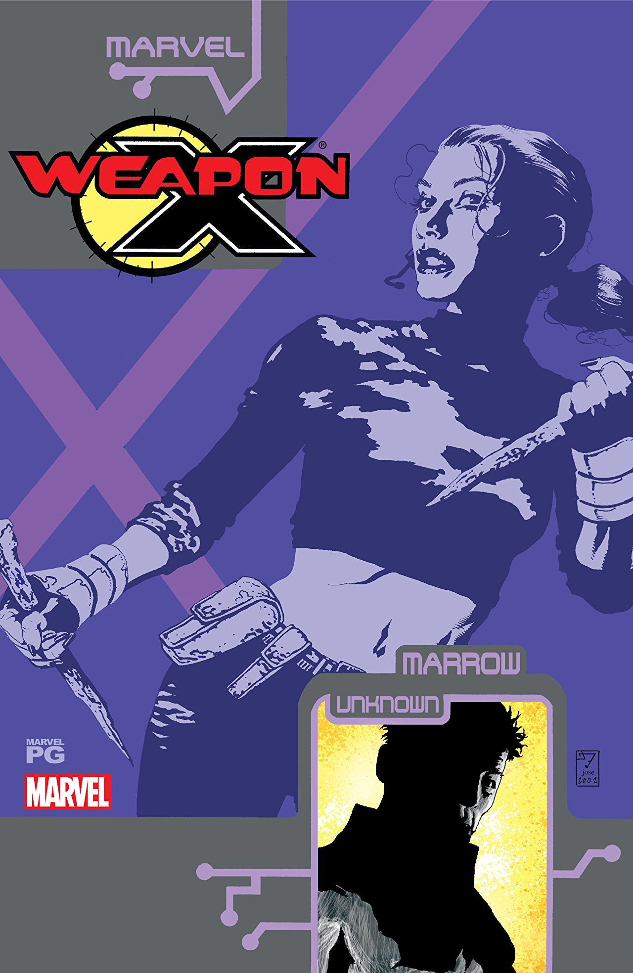 Weapon X: The Draft - Marrow Vol 1 1