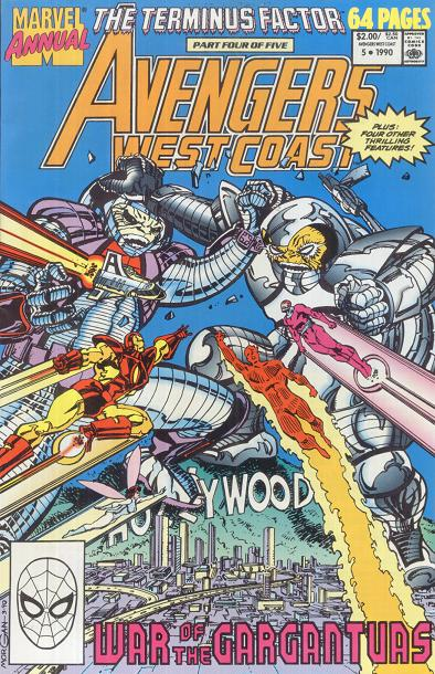 West Coast Avengers Annual Vol 2 5