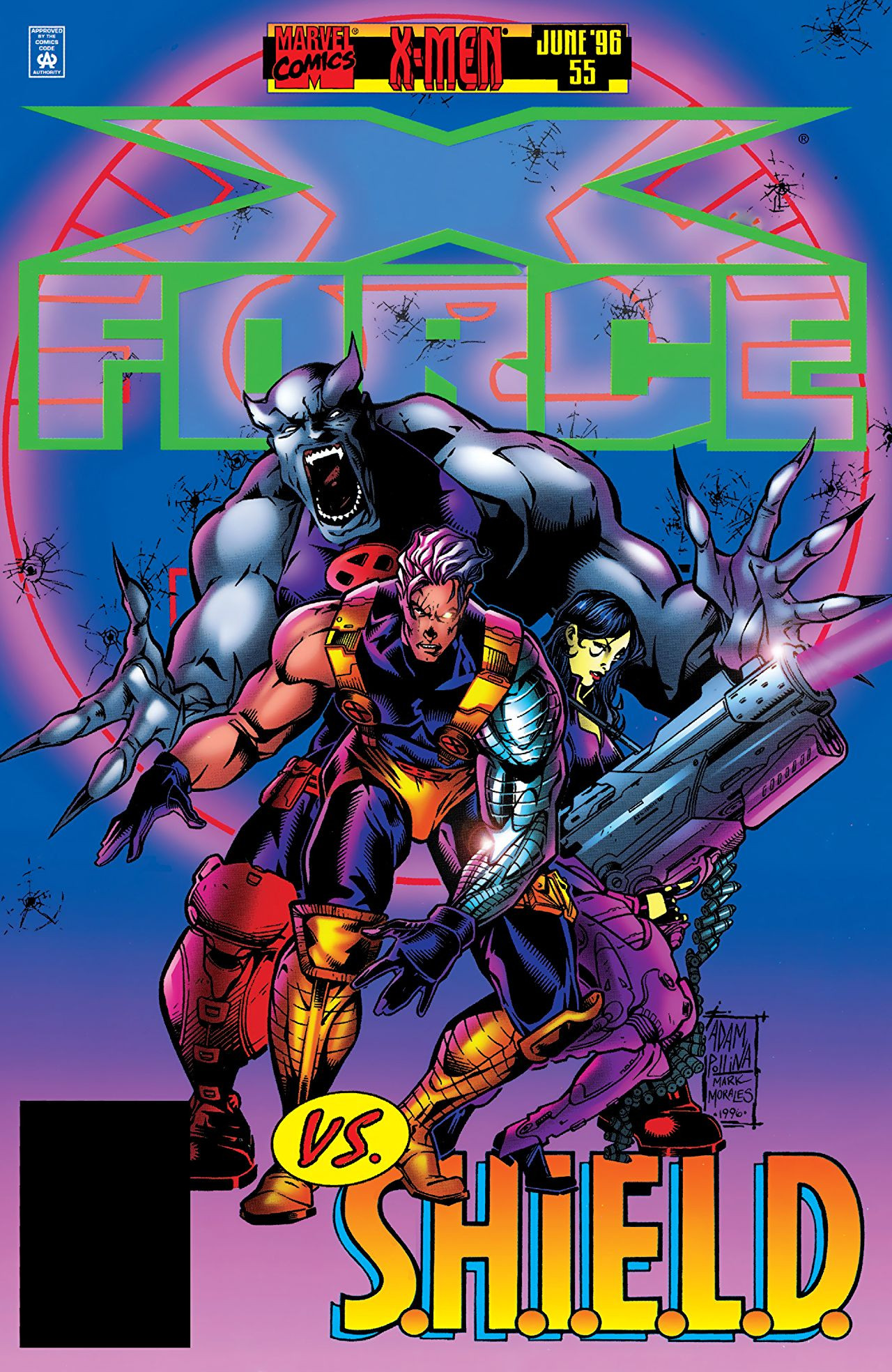 X-Force Vol 1 55