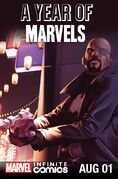 Year of Marvels August Infinite Comic Vol 1 1