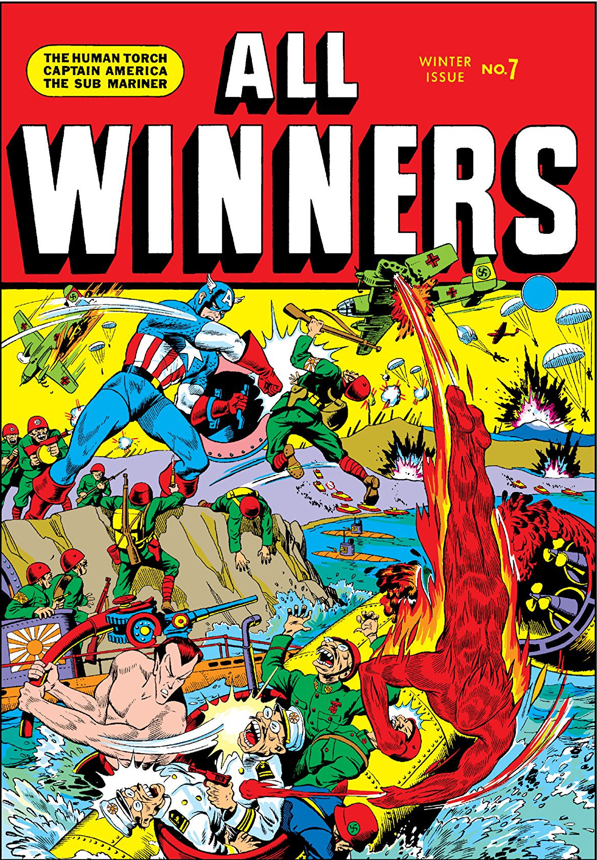 All Winners Comics Vol 1 7